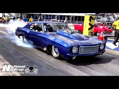 Street Outlaws Doc Street Beast vs The 55 at Redemption class at NHRA in Ennis,TX