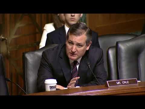 Sen. Cruz's Q&A w/ Director of National Drug Control Policy Nominee James Carroll at Sen. Judiciary