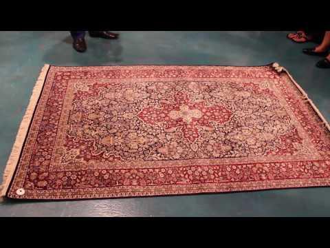 Silk carpets of Saga World Dubai
