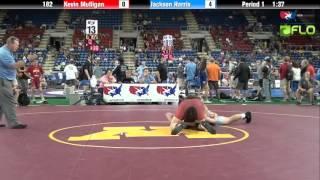 Cadet 182 - Kevin Mulligan (New Jersey) vs. Jackson Harris (Ohio)