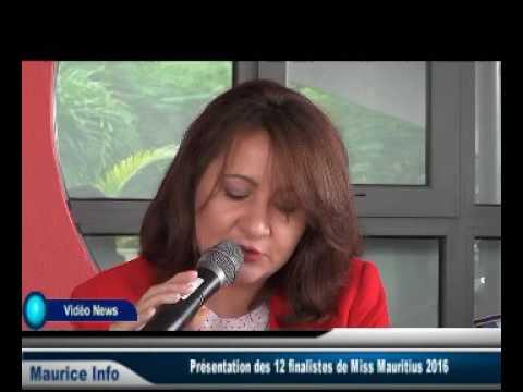 Cinférence de presse du Comité Miss Mauritius