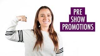 Pre Trade Show Promotion