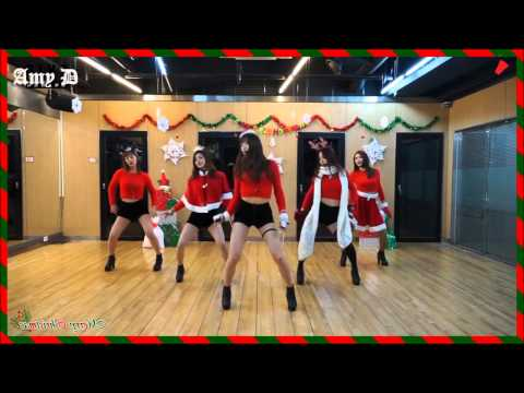EXID 'UP & DOWN' Mirrored Dance Practice Christmas