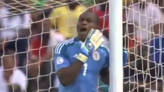 Francis Kahata Super Freekick - Nigeria vs. Kenya