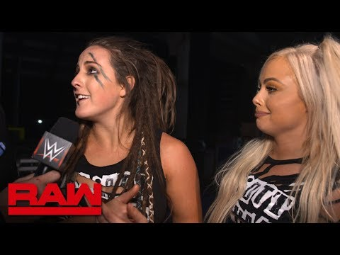 Sarah Logan goes to war with The War Goddess: Raw Exclusive, July 16, 2018