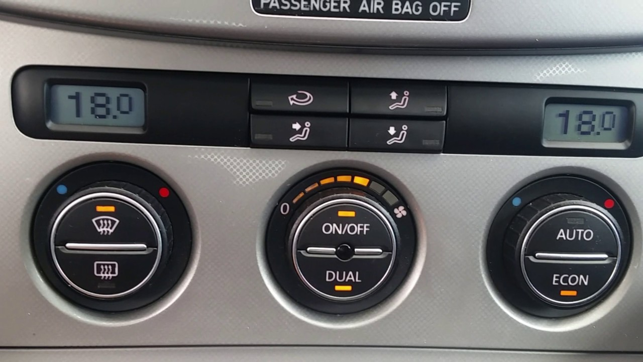 How to reset and calibrate HVAC flaps in VW Climatronic Passat b6