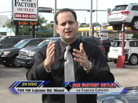 car factory outlet in miami commercial youtube. Black Bedroom Furniture Sets. Home Design Ideas