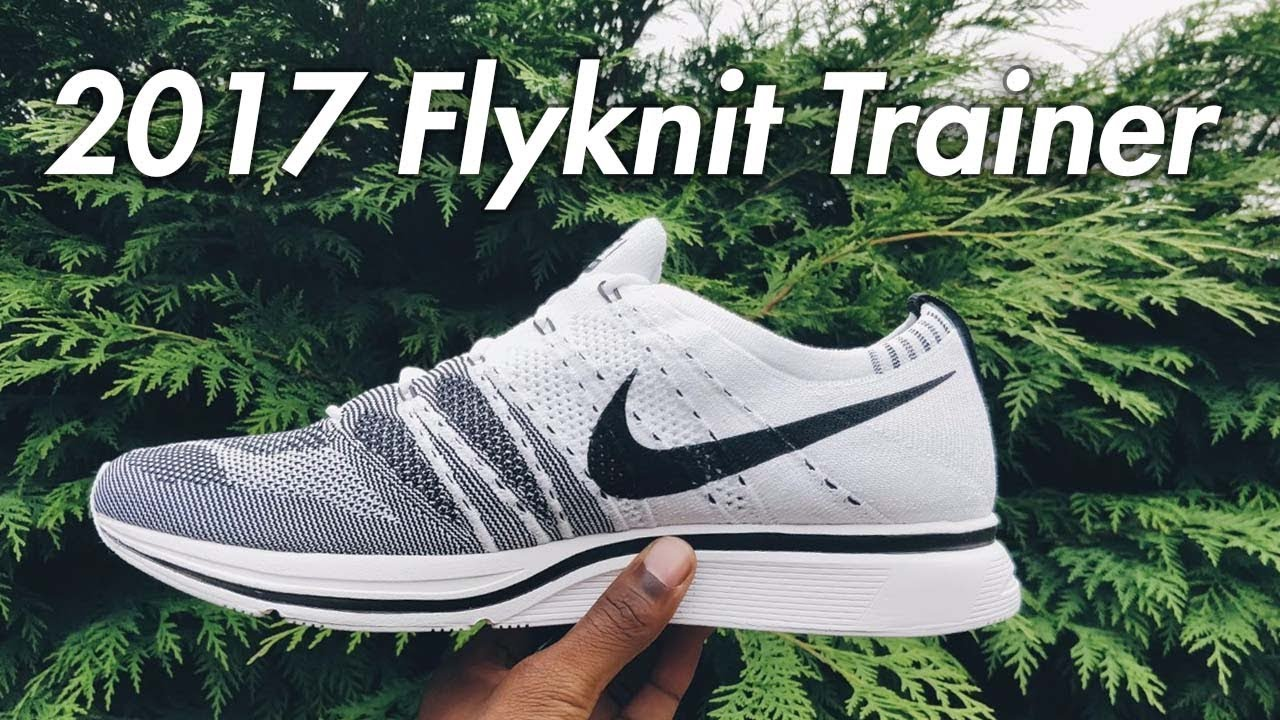 best loved a3c19 14ad6 2017 Flyknit Trainer UNBOXING  Review