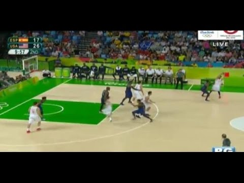 USA Vs. Spain Basketball - 2016 Rio Olympics Recap - August 19, 2016