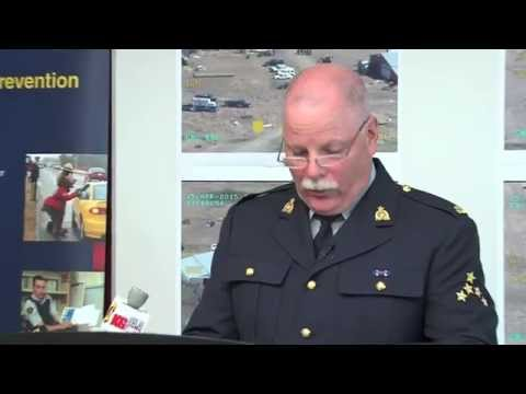 Channel6.ca News - Crime Watch - RCMP Priority Crime Task Force Arrests and Seizure in Markerville.