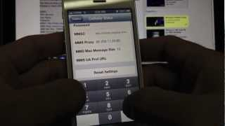 iPhone 5 MMS Picture Messaging H2O   NET10   Red Pocket   Straight Talk [ NO NEED JAILBREAK ]