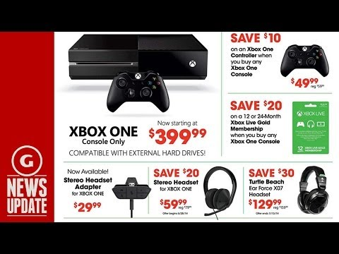 Xbox One Sale at GameStop This Weekend - GS News Update