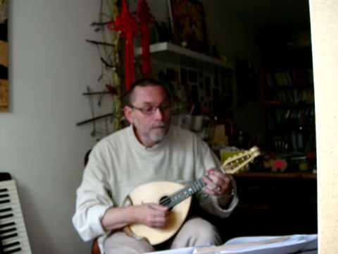 Greensleeves to a Ground - Classical Mandolin Solo