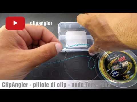Nodo giunzione trecciato fluorocarbon per lo spinning Tony Pena modificato - ClipAngler