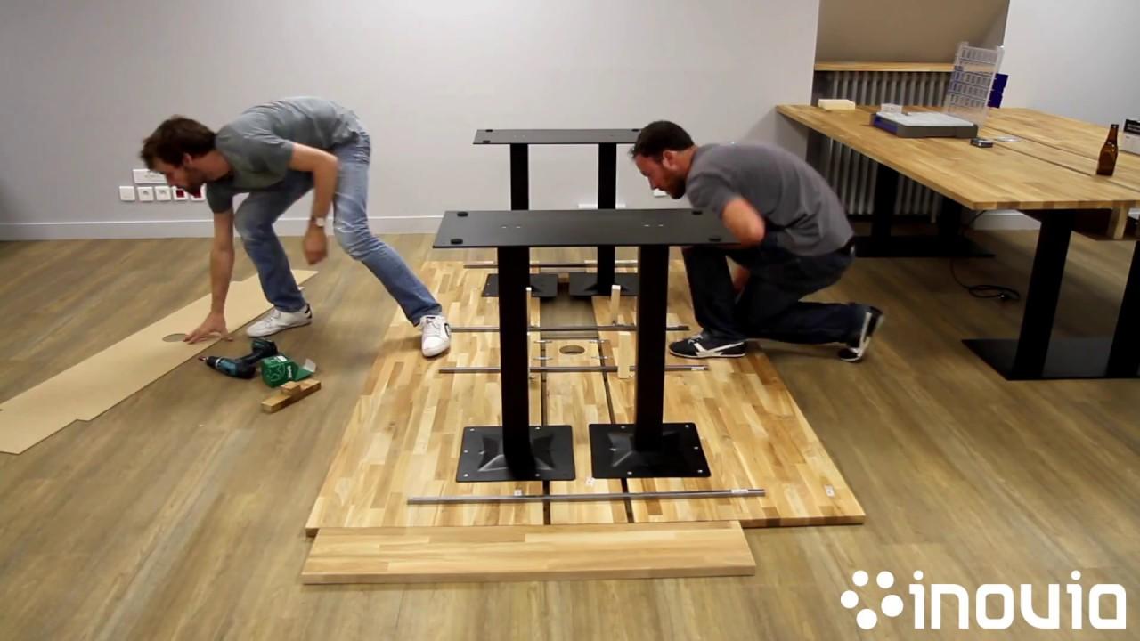 Diy comment fabriquer un bureau en bois youtube