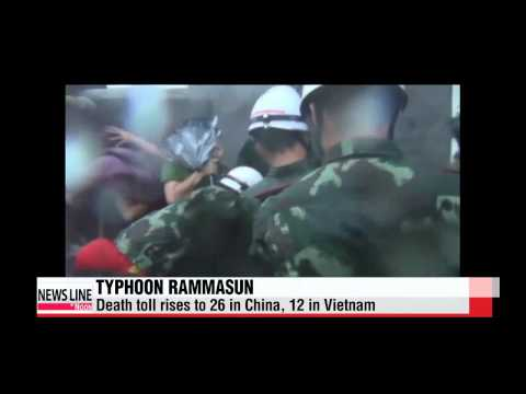 Typhoon Rammasun claims more lives in China, Vietnam