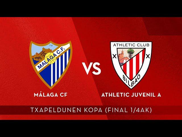 🔴 LIVE   Málaga CF vs Athletic Juvenil A   Copa de Campeones 2020-21 (1/4, ida)