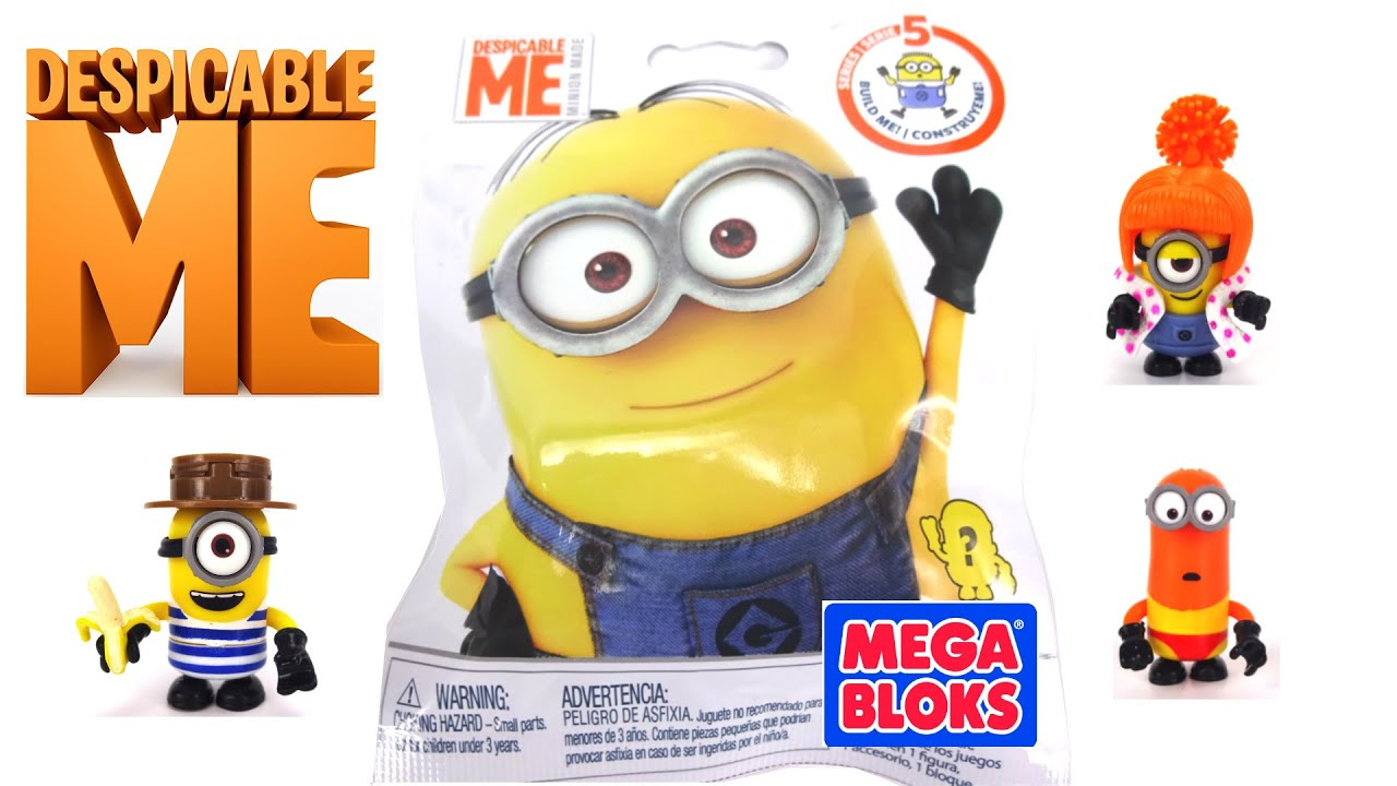 Minions Despicable Me Blind Bags by Mega Bloks Series 5 ...
