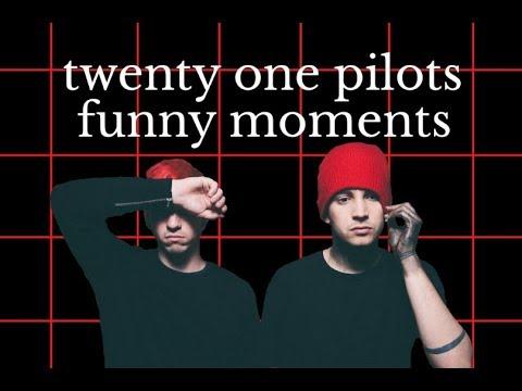 TWENTY ONE PILOTS FUNNY MOMENTS - YouTube