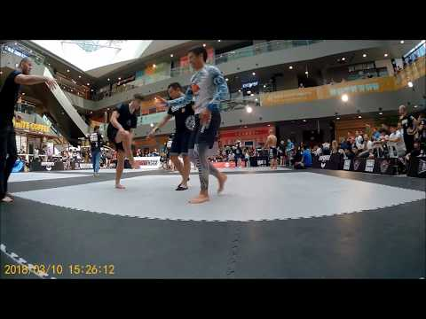 Nic Matthews - ADCC Singapore 2018 - Second Match