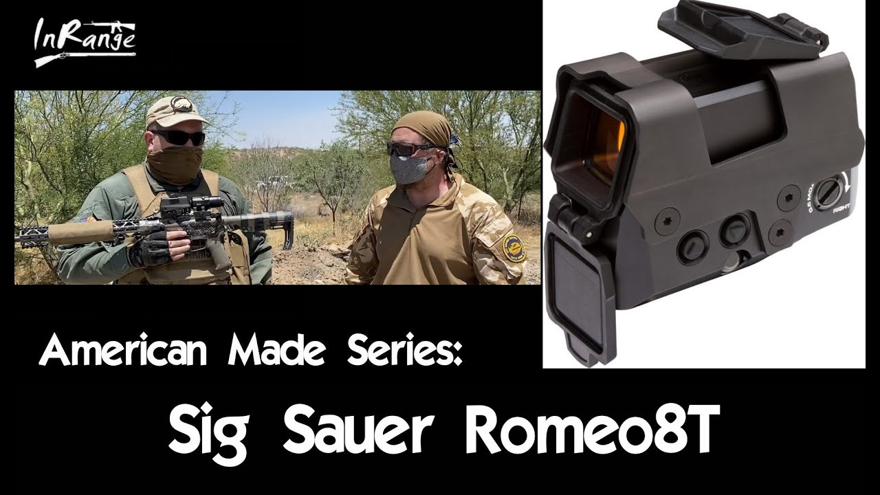 Sig Sauer Romeo 8T - American Made Series