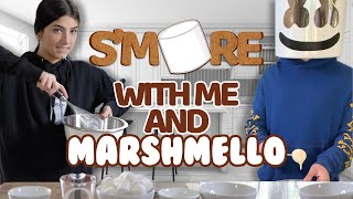S'more with me and Marshmello | Charli D'Amelio
