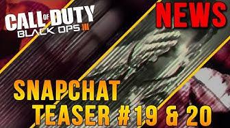 CoD News | Black Ops 3: Snapchat Teaser: 19 & 20 Psychische Störung [German/Deutsch] [Full-HD]