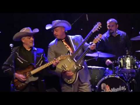 Deke Dickerson and the Don Diego Trio - Live in France
