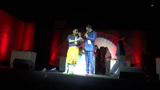 "South Indian Character by Deepak Negi and Ayush Bhanot at ""Amul Master Chef India""."