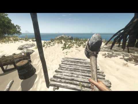 Stranded Deep ► Крафт в игре: оружия, улучшения, строительство и т.д.