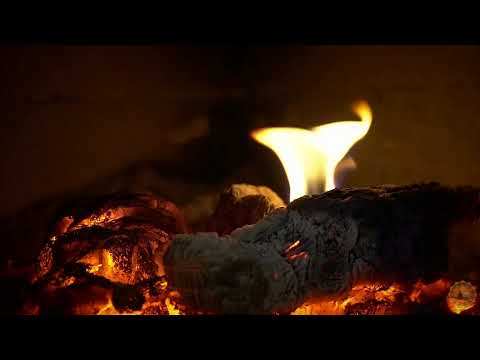 Relaxing Music Paradise:🔥 Crackling Fireplace with Relaxing Piano Music🎵 Relaxing Meditation Music 😴