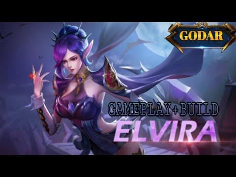 Гайд на Эльвиру | Elvira gameplay+build | Heroes Evolved