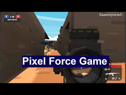 Y8 game bắn súng – Pixel Force phiên bản Half Life cực hot web Y8.com