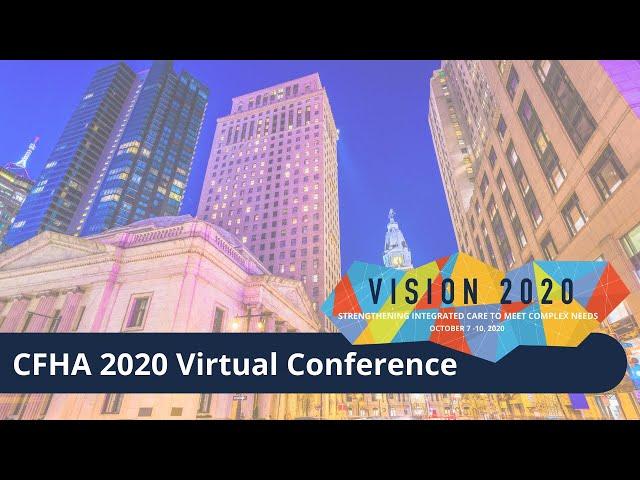 CFHA 2020 Virtual Conference Promo