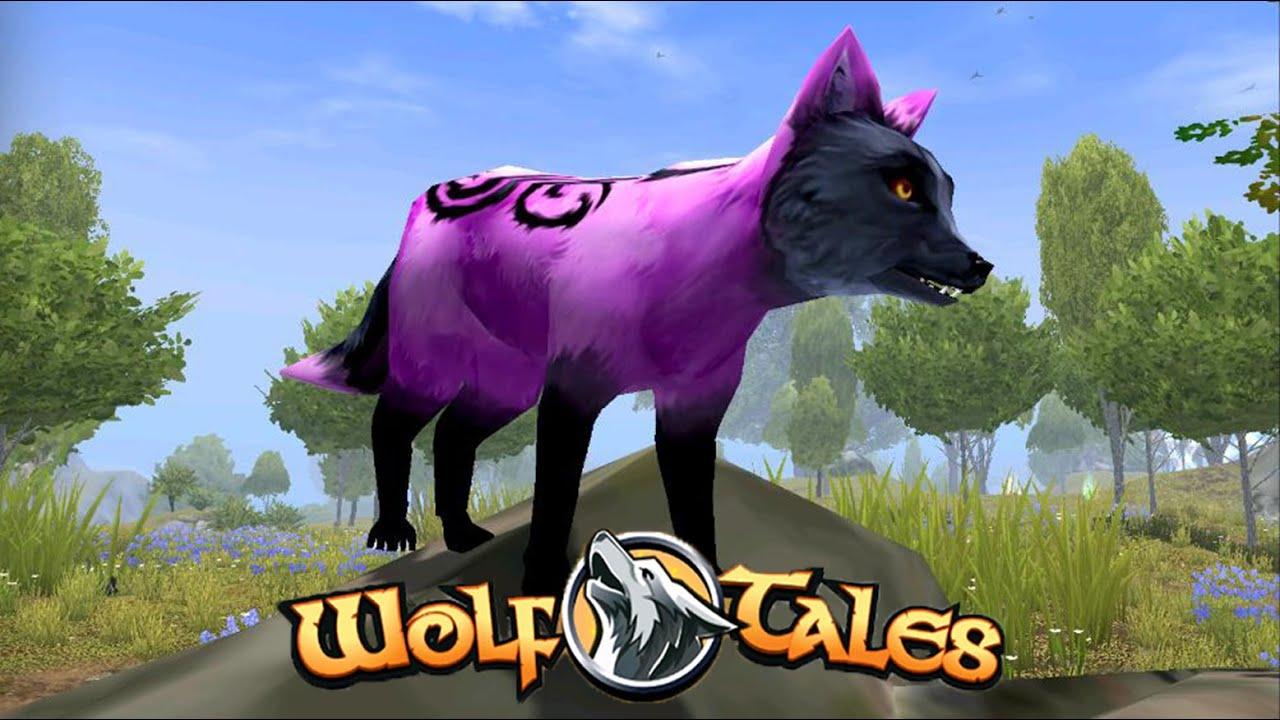 Розовая флеш лиса в Wolf Tales  Home & Heart