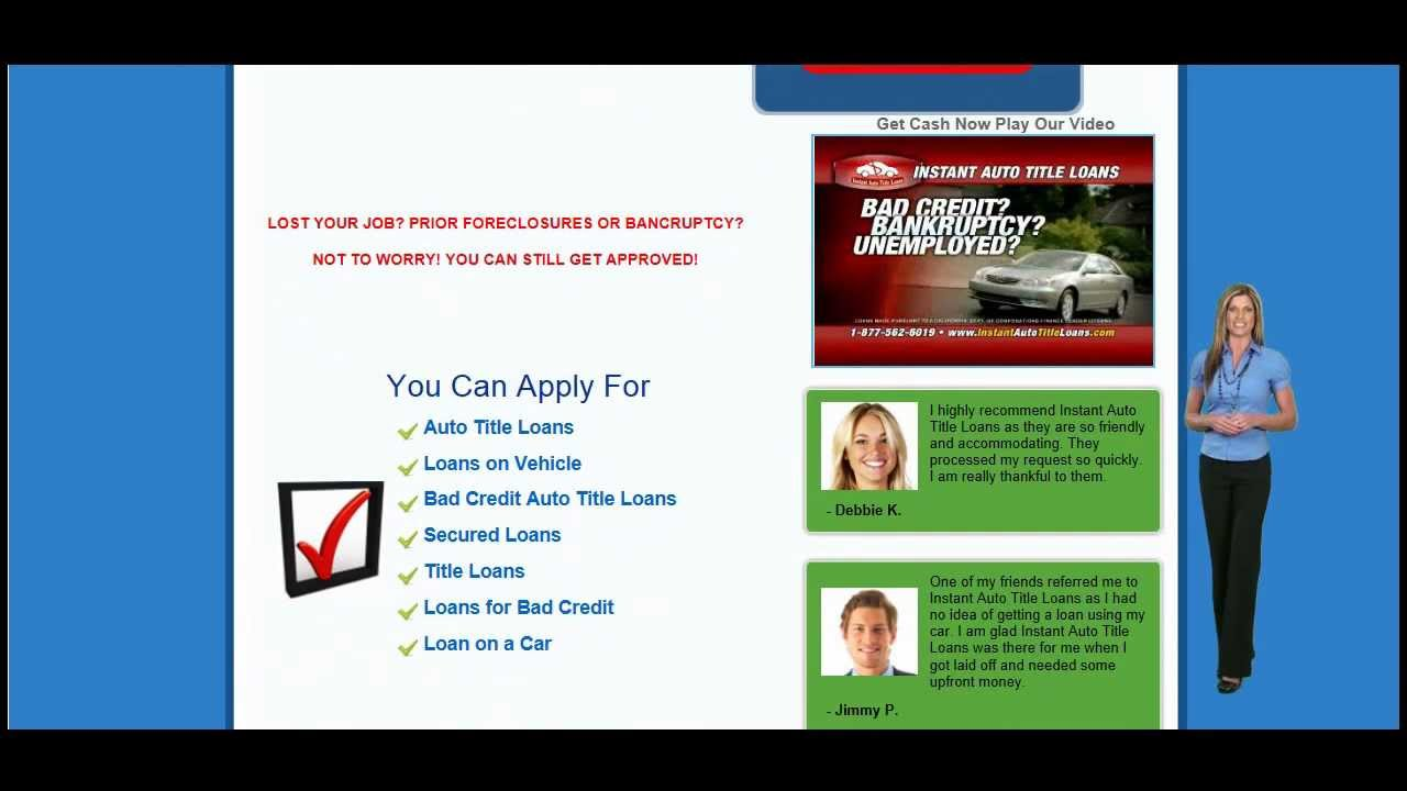 How does a title loan work answers are here