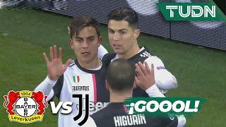 ¡Gol de CR7! La Juve se adelanta | Leverkusen 0 - 1 Juventus | Champions League  J6 - Grupo D | TUDN