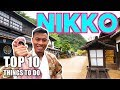 Top 10 Things to DO in NIKKO Japan  | WATCH BEFORE YOU GO | Onsen Paradise