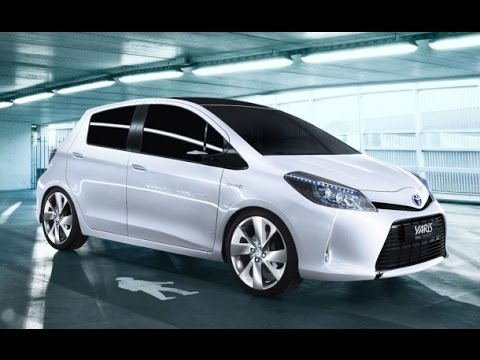 Toyota Yaris Test >> Toyota Yaris 2015 - YouTube