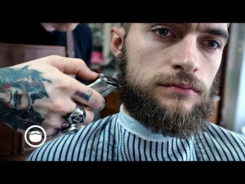 Super Round Beard Trim and Haircut