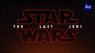 [Free] Star Wars: The Last Jedi Title Animation