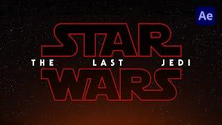 [Free] Star Wars: The Last Jedi Title Animation