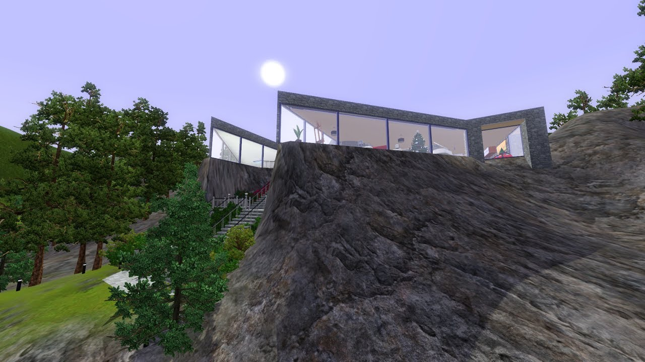 The sims 3 building a cliffside house youtube - When building a house ...