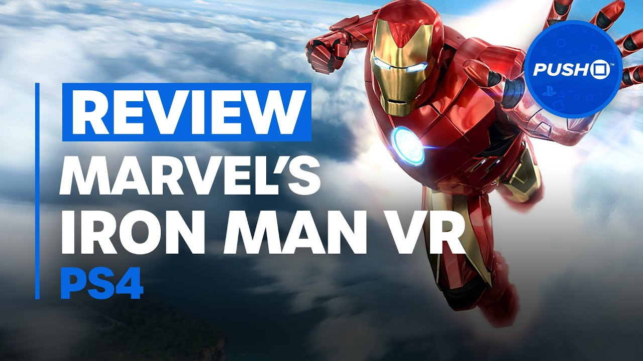 MARVEL'S IRON MAN VR REVIEW: A Virtual Reality Marvel | PS4