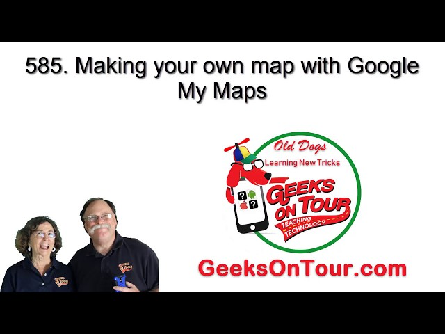Make your own Custom Map with Google My Maps 585