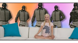 When Gamer Girls Play Rainbow 6 Siege - R6S Funny Moments