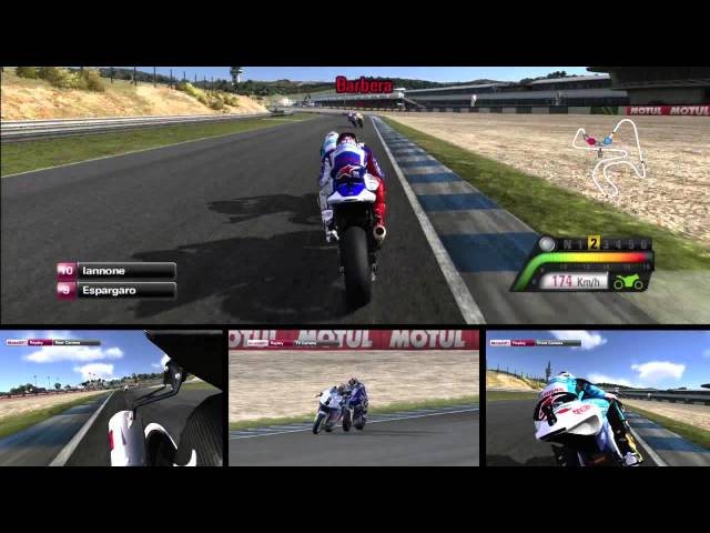 MotoGP 13 First Race - PS3 Gameplay