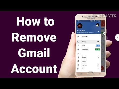 how to remove gmail account from samsung j7 prime