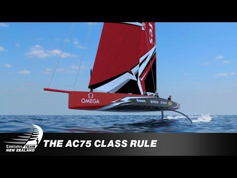 AMERICA'S CUP AC75 CLASS RULE REVEALED
