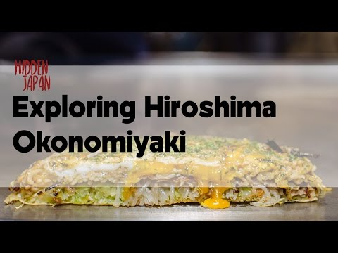 The Best Hiroshima Okonomiyaki in Hiroshima? | Japan Video Travel Guide | Hidden Japan